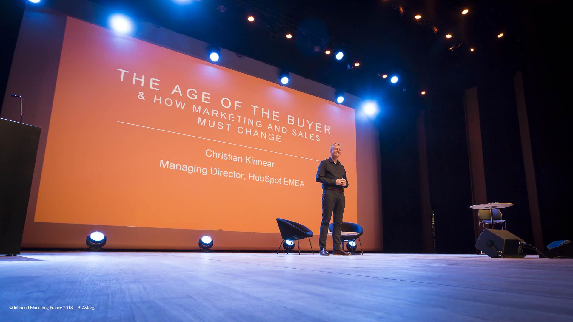 IMF18 HubSpot conférence