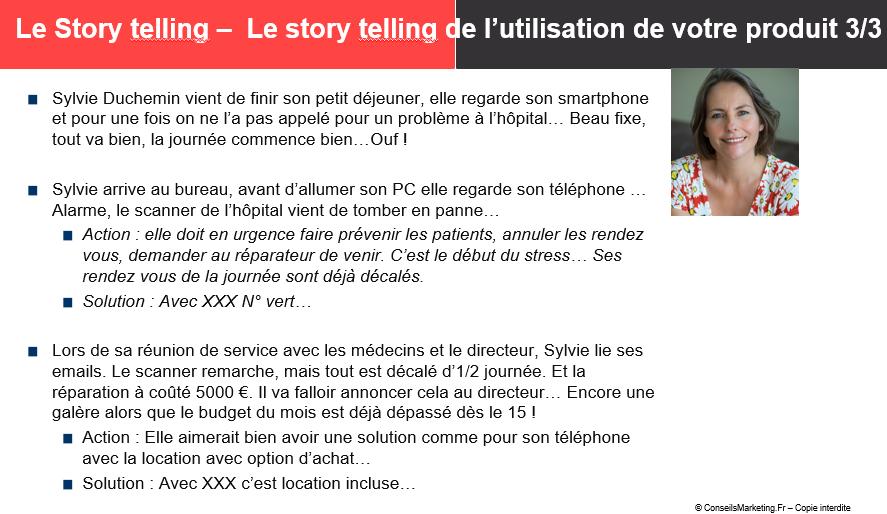 persona storytelling