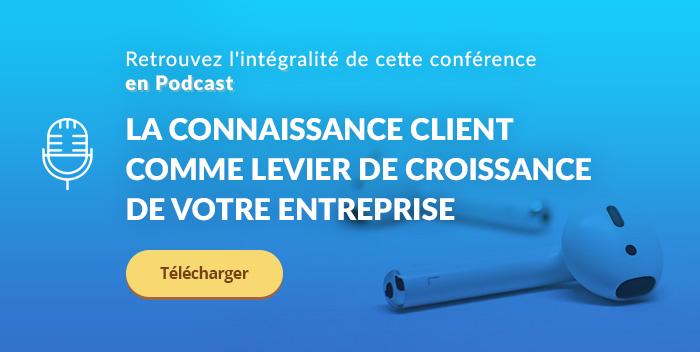 Conférence IMF19 sur la connaissance client