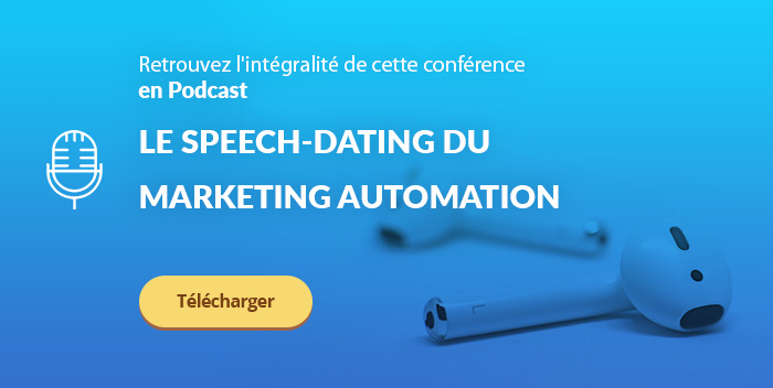 Conférence sur le marketing automation à l'IMF19